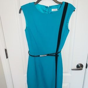 Calvin Klein Turquoise Dress